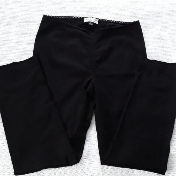 Lena Gabrielle of New York Pants - Lena Gabrielle  Black Stretch Slacks size 8
